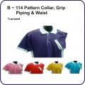 B Series (B - 114 pattern collar, grip, piping & waist)