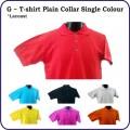 G Series - plain collar single colour