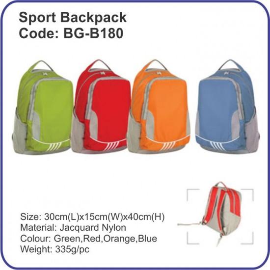 Sport Backpack Bag BG-B180