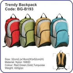Trendy Backpack Bag BG-B193