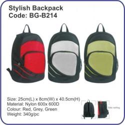 Stylish Backpack Bag BG-B214