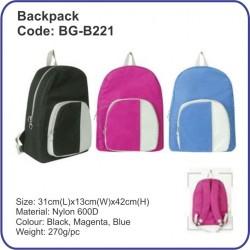 Backpack Bag BG-B221