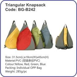Triangular Knapsack Bag BG-B242