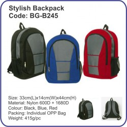 Stylish Backpack Bag BG-B245