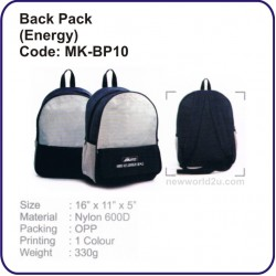 Backpack Bag (Energy) MK-BP10