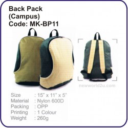 Backpack Bag (Campus) MK-BP11