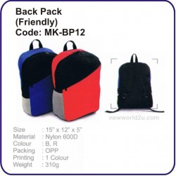 Backpack Bag (Friendly) MK-BP12
