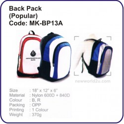 Backpack Bag (Popular) MK-BP13A