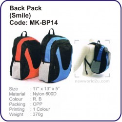 Backpack Bag (Smile) MK-BP14
