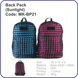 Backpack Bag (Sunlight) MK-BP21