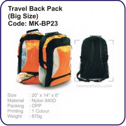 Travel Backpack Bag (Big size) MK-BP23