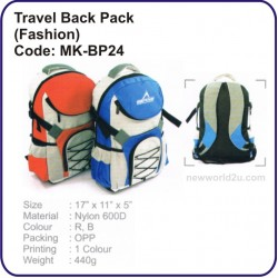Travel Backpack Bag (Fashion) MK-BP24