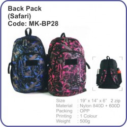 Backpack Bag (Safari) MK-BP28