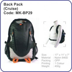 Backpack Bag (Cruise) MK-BP29