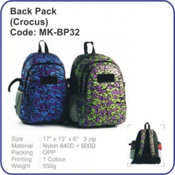 Backpack Bag (Crocus) MK-BP32