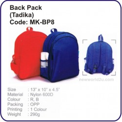 Backpack Bag (Tadika) MK-BP8
