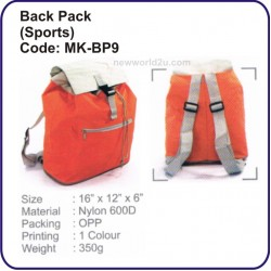 Backpack Bag (Sport) MK-BP9
