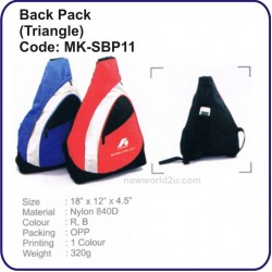 Backpack Bag (Triangle) MK-SBP11