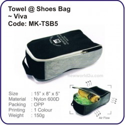 Towel @ Shoes Bag (Viva) MK-TSB5