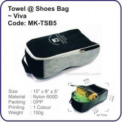 Towel @ Shoes Bag (Viva) MK-TSB5