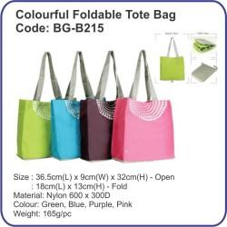 Colourful Foldable Tote Bag BG-B215