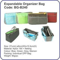 Expandable Organizer Bag BG-B240