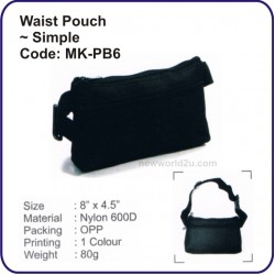 Waist Pouch (Simple) MK-PB6