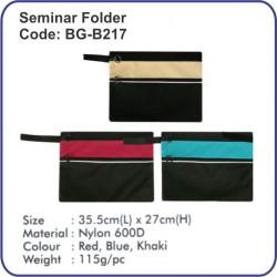Seminar Folder BG-B217
