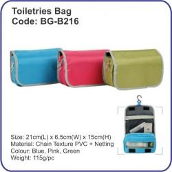 Toiletries Bag BG-B216