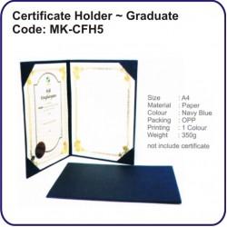 Certificate Holder (Graduate) MK-CFH5