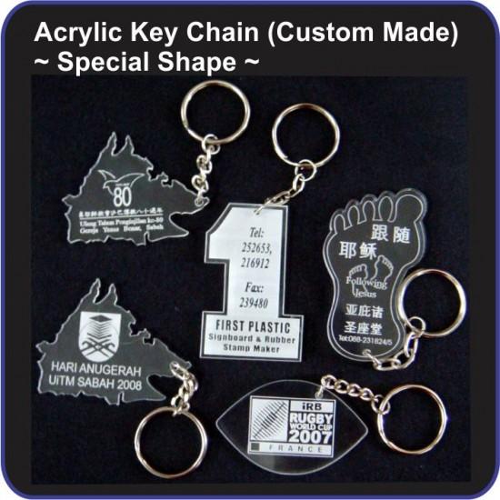 Acrylic Key Chain (Custom Made)