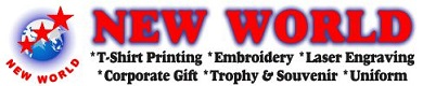 New World - T-Shirt Printing & Embroidery Centre | Malaysia Premium Gift
