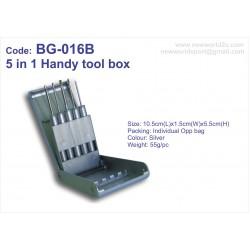 5 in 1 Handy Tool Box BG-016B