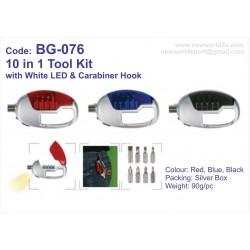 10 in 1 Tool Kit BG-076