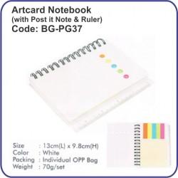 Artcard Notebook BG-PG37