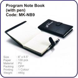 Program Note Book MK-NB9