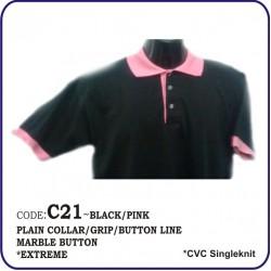 T-Shirt CVC C21 - Black/Pink