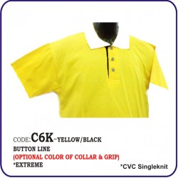 T-Shirt CVC C6K - Yellow/Black