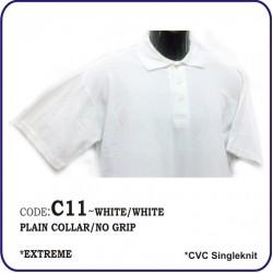 T-Shirt CVC C11 - White/White