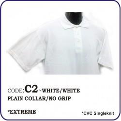 T-Shirt CVC C2 - White/White
