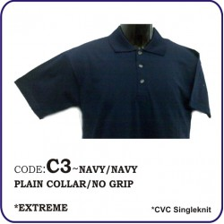 T-Shirt CVC C3 - Navy/Navy