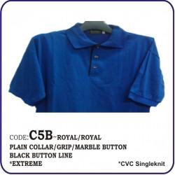 T-Shirt CVC C5B - Royal/Royal