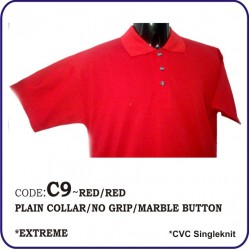 T-Shirt CVC C9 - Red/Red