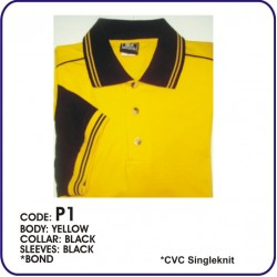T-Shirt CVC P1 - Yellow/Black