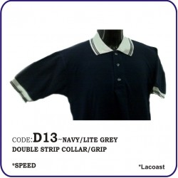 T-Shirt Lacoast D13 - Navy/Lite Grey