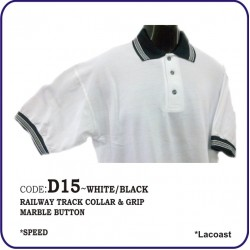 T-Shirt Lacoast D15 - White/Black