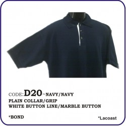 T-Shirt Lacoast D20 - Navy/Navy