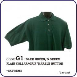 T-Shirt Lacoast G1 - Dark Green/Dark Green
