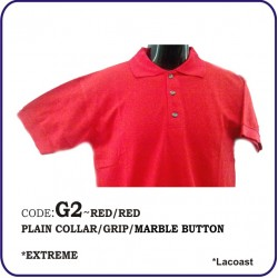 T-Shirt Lacoast G2 - Red/Red