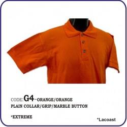 T-Shirt Lacoast G4 - Orange/Orange